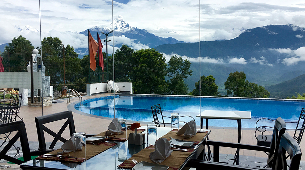 Himalayan front hotel, where you can relax in luxury